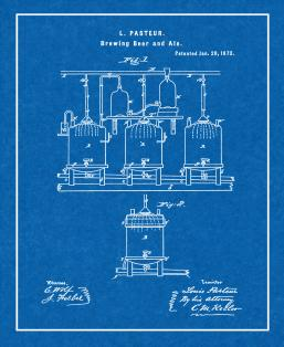 Brewing Beer And Ale Patent Print