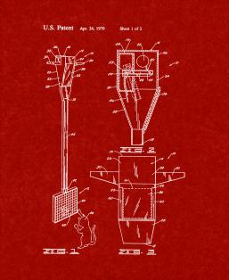 Bird Trap And Cat Feeder Patent Print