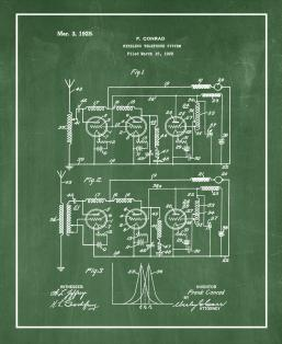 Wireless Telephone System Patent Print