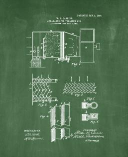 Apparatus For Treating Air Patent Print