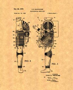 Equipotential Space Suit Patent Print