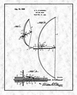 Bow And Arrow Patent Print