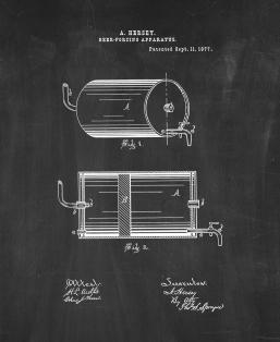Beer Forcing Apparatus Patent Print