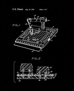 Robot Computer Chess Game Patent Print