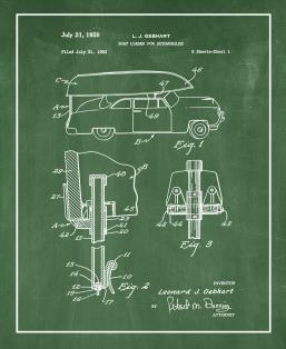 Boat Loader for Automobiles Patent Print