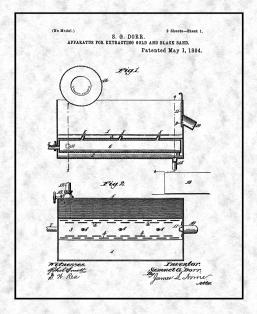 Apparatus For Extracting Gold And Black Sand Patent Print