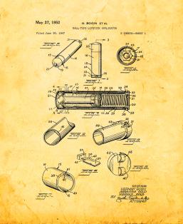 Ball-type Lipstick Applicator Patent Print