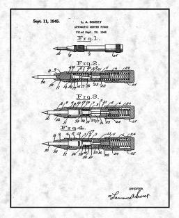 Automatic Center Punch Patent Print