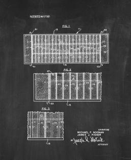 Football Field Area Identification Means Patent Print