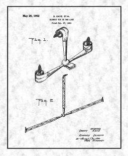 Blowout Toy Patent Print