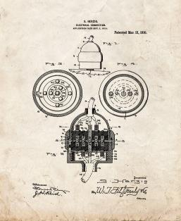 Electrical Connection Patent Print