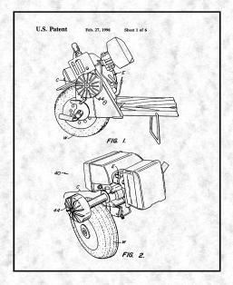 Goped Liquimatic Torque Convertor Patent Print Poster Item