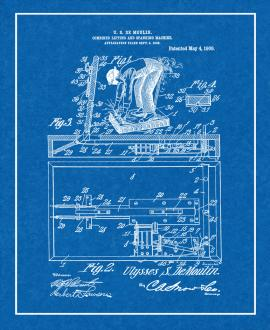 Combined Lifting And Spanking Machine Patent Print