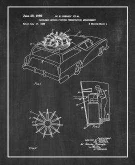 Panoramic Motion Picture Presentation Patent Print