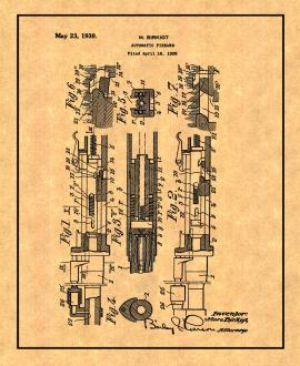 Automatic Firearm Patent Print