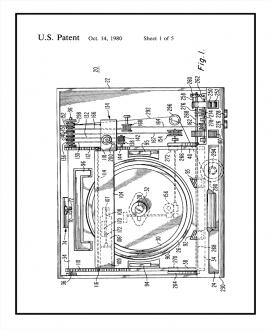 Scanning Mechanism For Video Disc Player Patent Print