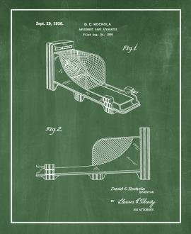Amusement Game Apparatus Patent Print