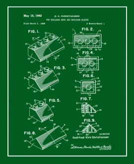 Lego Toy Building Sets And Building Blocks Patent Print