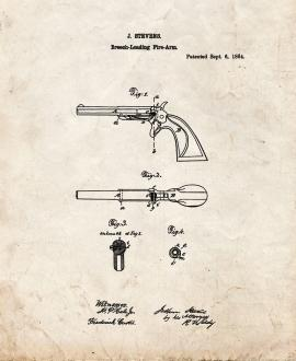 Breech-loading firearm Patent Print