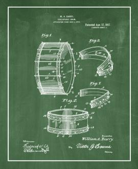 Collapsible Drum Patent Print