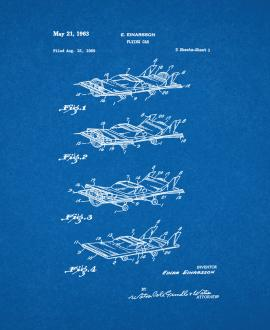 Flying Car Patent Print