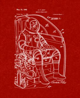 Mobile Space Suit Patent Print