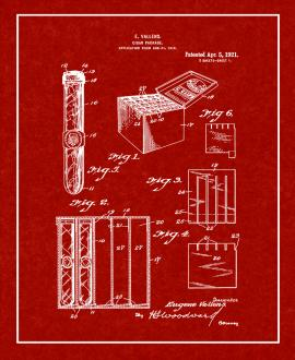 Cigar-package Patent Print