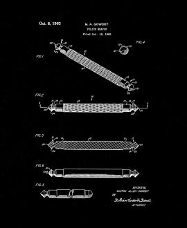Police Weapon Patent Print