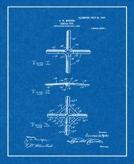 Aerial Toy Patent Print