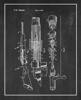Bolt Mechanism And Receiver For Bolt Action Rifle Patent Print