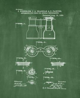 Astigmatic Eye-Piece For Optical Instruments Patent Print