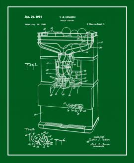 Fruit Juicer Patent Print