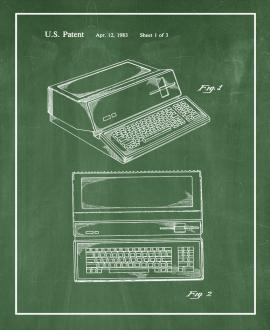 Apple Personal Computer Patent Print