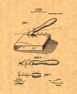 Can Opener Patent Print
