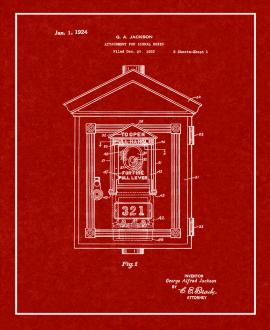 Attachment For Signal Boxes Patent Print