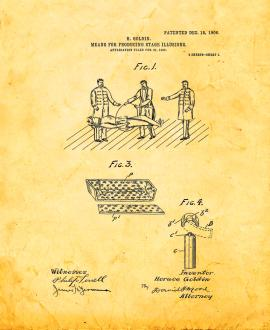 Means For Producing Stage Illusions Patent Print