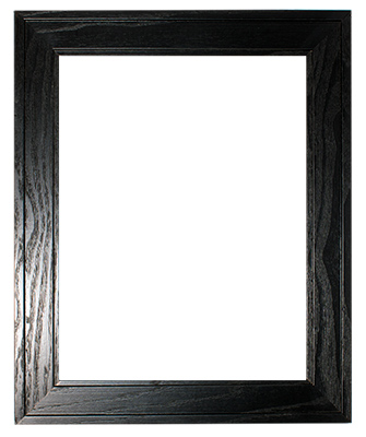 Black Stained Pine Frame