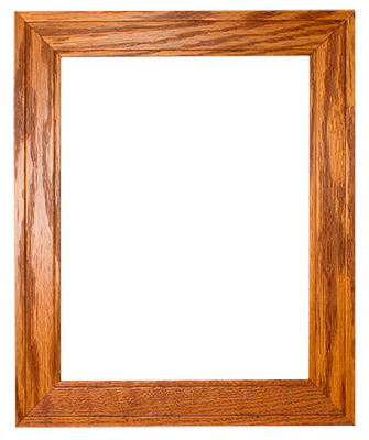Honey Red Oak Frame