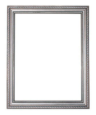 Ornate Silver Frame