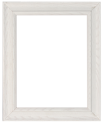 White Stained Frame