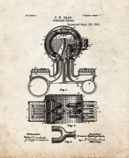 Compound Engine Patent Print