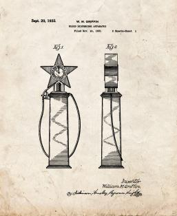 Gas Pump Dispensing Apparatus Patent Print
