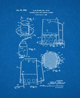 Automatic Dump Type Charcoal Lighter Patent Print