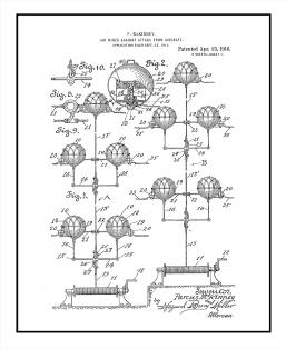 Air-mines Against Attack From Aircraft Patent Print