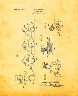 Action Toy Patent Print