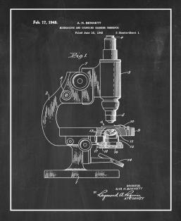 Microscope And Counting Chamber Therefor Patent Print