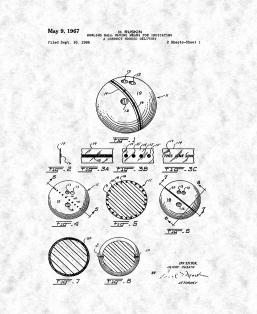 Bowling Ball Having Means For Indicating A Correct Hooked Delivery Patent Print