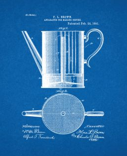 Apparatus For Making Coffee Patent Print