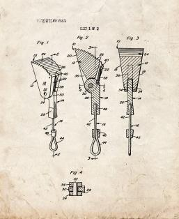 Anchor Device For Mountain Climbers Patent Print