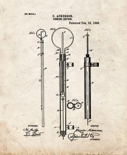 Fishing Device Patent Print